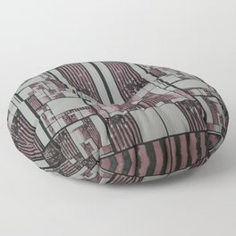 FX#509 - The Faded Geometric Floor Pillow
