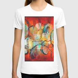 African American Masterpiece 'Harlem, Jazz Musicians' by J. Robinson T-shirt