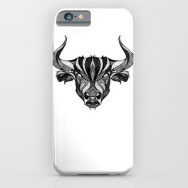 Signs of the Zodiac - Taurus iPhone Case