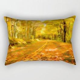 Autumns Glow Rectangular Pillow