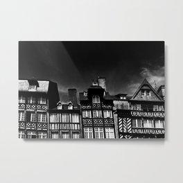Crooked Rennes Metal Print