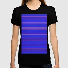 Simple Lines Pattern pr T-shirt