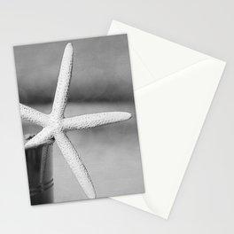 Black and White Starfish Stationery Cards