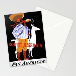 Nostalgia South America Stationery Cards