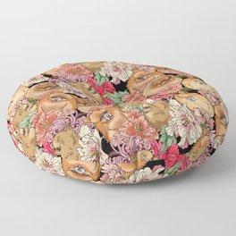 Because Pomeranians Floor Pillow
