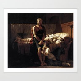 Pierre-Narcisse Guerin - The Return of Marcus Art Print