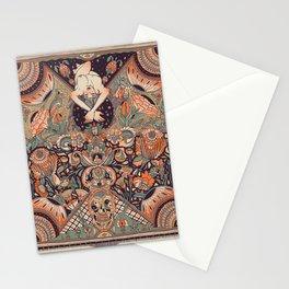 lit de fleurs Stationery Cards