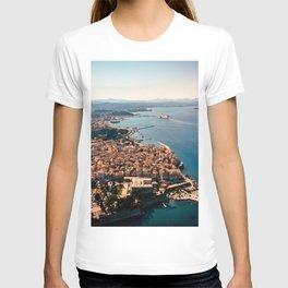 Corfu Kerkira from above T-shirt