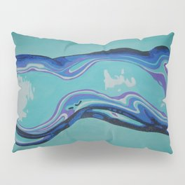 Moulded Glass Beautiful Nude Abstract  Pillow Sham