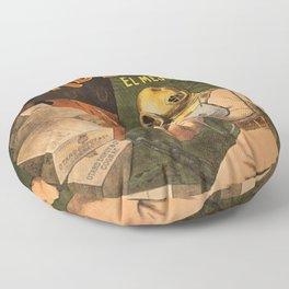 1910 Cognac Otard Dupuy Cornac Advertisement Poster Floor Pillow
