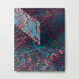 Cubo Metal Print