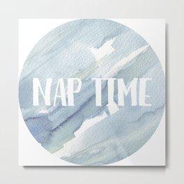 Nap Time Metal Print
