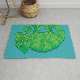 Magical Chameleon Rug