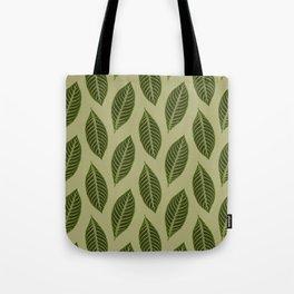 ever green foliage Tote Bag