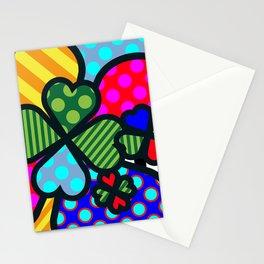 Lucky Cloverleaf XL Stationery Cards