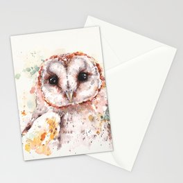 Australian Barn Owl Stationery Cards