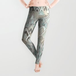 mountains and trees Leggings