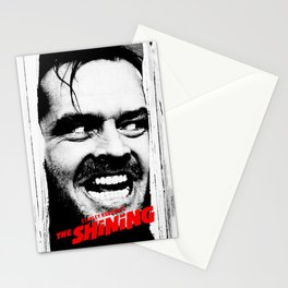 Classic 80s Terror Film for cinema lovers. Stationery Cards
