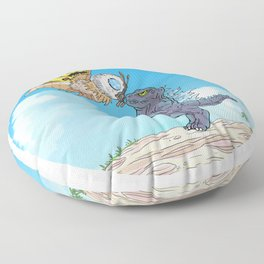 PonyoZilla Floor Pillow