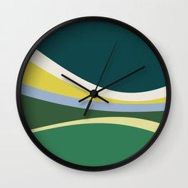 july meadow Wall Clock