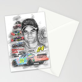 Jeff Gordon Stationery Cards