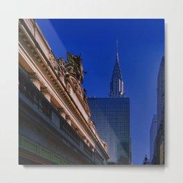 New York City // Retro 29 Metal Print