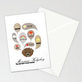 Monsieur Hedgehog Stationery Cards