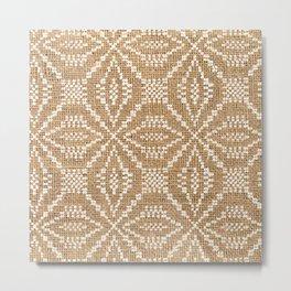 Binakol Naturale Metal Print