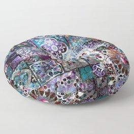 Celestial Tile Pattern Floor Pillow