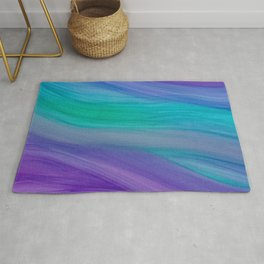 Mermaid Ocean Waves Rug