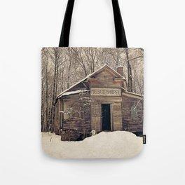Mission Chapel Tote Bag