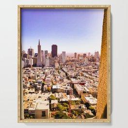 San Francisco View Serving Tray