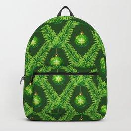 Vintage Christmas hand drawn illustration pattern 15 Backpack