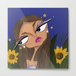 Sunflower Dreams Metal Print