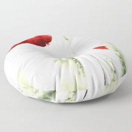 Poppy Poppies Mohn Mohnblume Floor Pillow