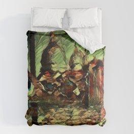 Rusalka: Москва (Fall Morning) Comforters