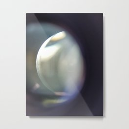 Obscured Light Metal Print