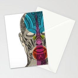 Wedding Face 3 Stationery Cards