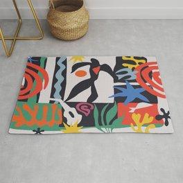 inspired to Matisse (black) Rug