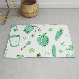 Green oral care Rug