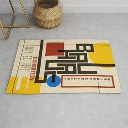 Bauhaus Poster I Rug