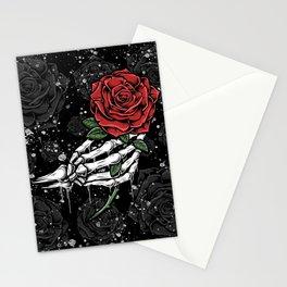 Skeleton Rose Offering Stationery Cards