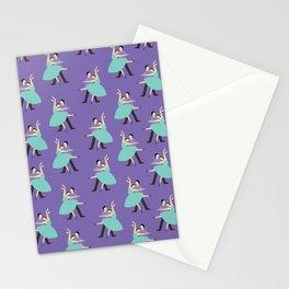 Dancing Violet Stationery Cards
