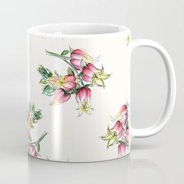 Big Floral Happy Watercolor Coffee Mug