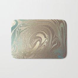 Mermaid Gold Wave 2 Badematte