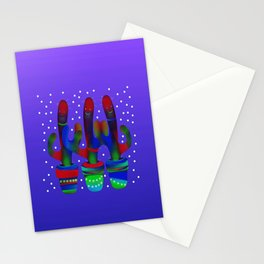 Cactus Rainbow 03 Stationery Cards