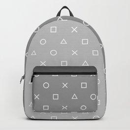 Grey Gamer Backpack