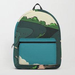 Japanese Fields Backpack