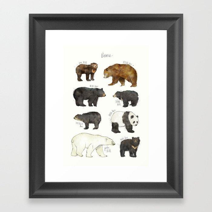 Bears Gerahmter Kunstdruck