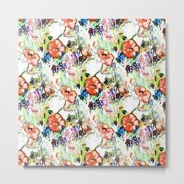 Coral Garden Mo Nay Metal Print